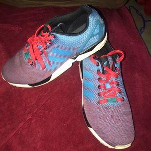 844ecea6458f4 Men's Adidas Torsion ZX Flux Shoes Size 10.5